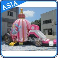 China Inflatable Princess Bounce House for Girl Birthday Party on sale