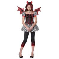 Wholesale Religion  Little Girl Halloween Costumes , Strangelings Devil Cute Teen Costumes from china suppliers