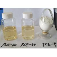 Wholesale High Efficiency Water Reducer Superplasticizer PCE Polycarboxylate Liquid from china suppliers