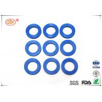 Wholesale 80 Shore A Flat Rubber Washer With FDA Approved Black Blue Soft Silicone from china suppliers