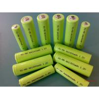 Buy cheap Green 1.2V DVD NIMH Rechargeable Battery AA 2700mAh With ROHS from Wholesalers
