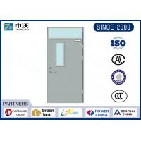 Wholesale High Temperature Resistant Fire Door Insulation With Skylight And Glass 32*200*900 Mm from china suppliers