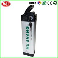 Wholesale Silver 48v 10ah Ebike Battery , LiFePO4 Rechargeable Battery For Electric Bike from china suppliers