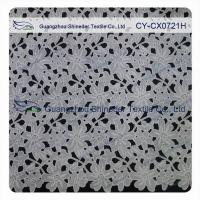 Wholesale Thick Polyester Charming Allover Fabric Chemical Lace For Lady Garment from china suppliers