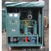 Wholesale Impurities Removal High Vacuum Oil Purifier 600-18000L/H Custom Color For transformer from china suppliers