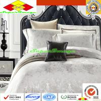 Wholesale Tencel Jacquard Bedding Sets-Luxury Silver from china suppliers
