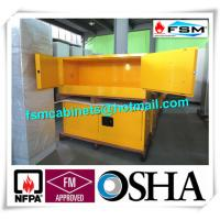 Wholesale Horizontal Flammable Industrial Safety Cabinets Piggyback With Doors 12 GAL from china suppliers