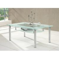 China hot sell rectangle glass top coffee table xyct-078 on sale