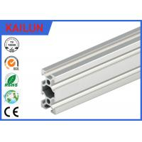China Extruded Aluminum Rails With T - Slots , T Slotted Aluminum Extrusions Fittings on sale