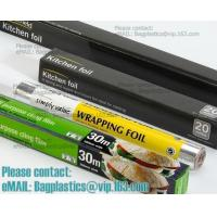 Wholesale Eco Friendly Household 11micron Hamburger Wrapping Aluminium Foil Roll For Food Packaging Wrapping Foils, Embossed Alumi from china suppliers