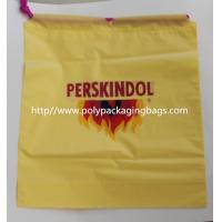 Wholesale Yellow Waterproof Nylon Mesh Promotional Drawstring Bags / Personalized Drawstring Bags from china suppliers