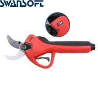 China Swansoft LED Display lihium Battery Shear diameter 40MM apple tree Electric Pruning Shears Electric Pruner on sale