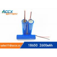 Wholesale 18650 3.7V 2000mAh rechargeable li-ion battery manufacturer from china suppliers