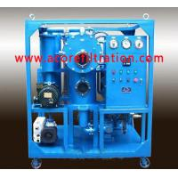 Buy cheap Double Stages Vacuum Transformer Oil Filtration Systems from Wholesalers