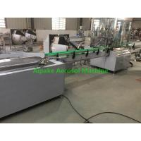 Wholesale Compact Aerosol Filling Machine For Aerosol Pesticide Filling for Car Care Filling, Air Freshener Filling,etc from china suppliers
