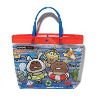 Wholesale waterproof  Vinyl  / PVC cotton tote bags for packing and shopping from china suppliers