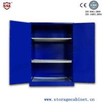 Wholesale Blue Chemical Liquid Sulfuric Corrosive Storage Cabinet With 2 Doors from china suppliers
