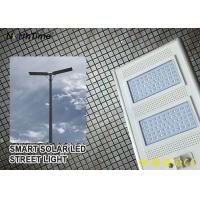 Wholesale IP65 Smart Control Solar Powered LED Street Lights With Solar Panel & Lithium Battery from china suppliers