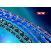 Wholesale Rubber Diamond Wire For Granite Quarry Fitted With 37 - 75KW Wire Saw Machines from china suppliers