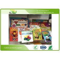 Quality Environmental Ink Printing Personalised Childrens Board Bookswith Duplex Board Paper Type for sale