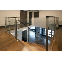 Wholesale Deck Glass Railing/ Balcony Glass Balustrade Interior Staircase Railing Design from china suppliers