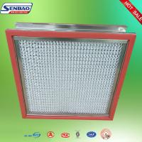 China Portable High Temp Hepa Filter Pharmaceutical Factory Clean Room H14 on sale
