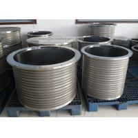 China stainless steel wedge wire slotted bar screen basket for pressure screen on sale