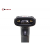Buy cheap Black ABS Case Induction Quick Charging 2D Wireless Barcode Scanner from wholesalers