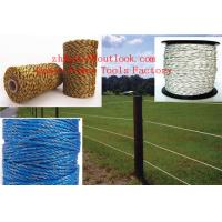 China ROLL-POLYTAPE-ELECTRIC-FENCE-ENERGISER-STAINLESS-STEEL-POLY-TAPE-INSULATOR on sale