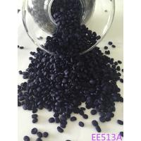 Blue Rubber Plastic Masterbatch 10% - 50% Pigment Content For Knitted Fabric