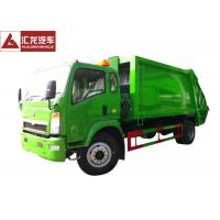Wholesale 8500KGS 120HP Garbage Compactor Truck 1:3 Compressed Quotient High Reliability from china suppliers