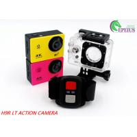 Wholesale 2.4G Remote Controller Waterproof Sport Camera 1080p Full HdWifi 140 Degree from china suppliers
