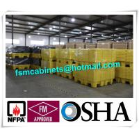 4 Drum HDPE Spill Pallet Poly Spill Pallet, Drum Spill Containments pallet for Oil Tank