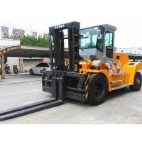 Wholesale 20 Ton Forklift Equipment Rental , Heavy Duty Forklift For Stations Chinese Engine from china suppliers