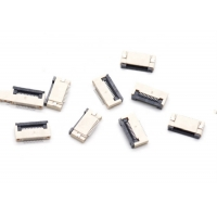 Wholesale 0.5 mm pitch connector FPC Connector types, with LCP, White, Flammability Rating(UL94V-0) from china suppliers
