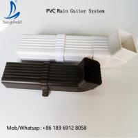 Wholesale Nigeria 5.2inch PVC Rain Gutter System Malaysia/Philippines/Kenya from china suppliers