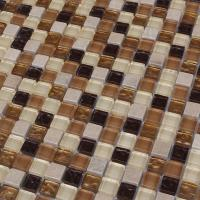 China 300x300mm mosaic glass tile backsplash,mosaic wall tile,mix color on sale