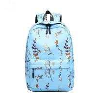 Wholesale Blue Pink Purple Color Trendy School Backpacks Student School Bag For Teens from china suppliers