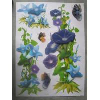 Wholesale Colorful 3226 Removable Flower 3d Wall Decoration Stickers Used for Clear Wall Paper from china suppliers