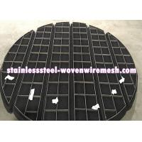 Wholesale Titanium Wire Mesh Demister Pad Mist Eliminator Round Anti - Corrosion from china suppliers