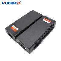 Wholesale IEEE802.3af Power Over Ethernet Injector Single Port 15.4W DC48-56V from china suppliers