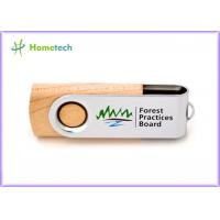 Wholesale Storage Logo Printing wooden pen drive , small 16gb usb 2.0 flash drive high speed from china suppliers