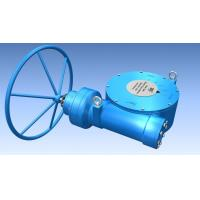 China Quarter Turn Gearbox Plug Valve Multi Stage Gear Operator for ball valve on sale