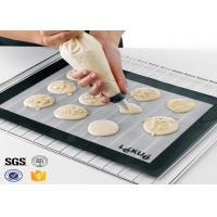 Wholesale PTFE Non Toxic Baking Sheet BBQ Heat Proof Silicone Mat from china suppliers