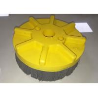 Wholesale Deburring Tufted Nylon Abrasive Disc Brush 150MM Outer Diameter X 25.4MM Inner Hole from china suppliers