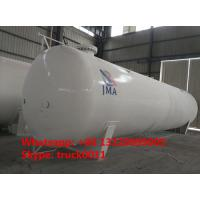 Buy cheap export model 65,000L 26MT bulk surface lpg gas storage tank for sale, 65m3 propane gas storage tank for Nigeria market from Wholesalers