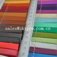 Wholesale 0.8mm sofa Leather high quality black pvc leather 3D printing pu leather fabric from china suppliers
