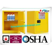 Wholesale Single Door Fireproof Paint Storage Cabinets With Grounding Wire Connector from china suppliers