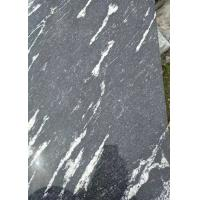 China Black Granite Stone Slabs Snow Grey Slab Tile Polished Sawn Flamed Corrosion Resistance on sale