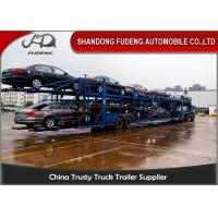 Wholesale 2 Axles Hydraulic Car Carrier Trailer Skeletal Frame Type Custom Dimension from china suppliers